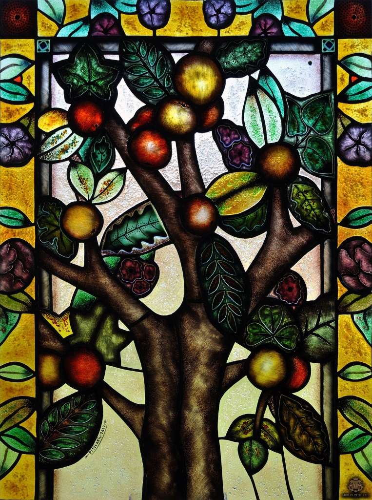 """""""The tree of life"""" stained glass"""