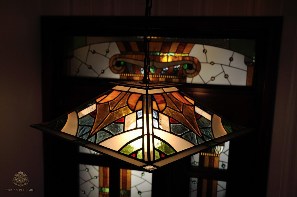 Tiffany lighting and stained glass