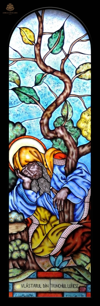 """""""Tree of Jesse"""" stained glass"""